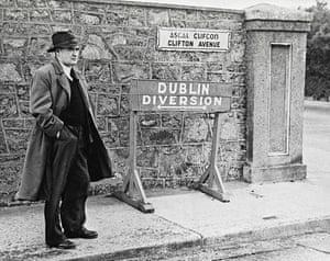 Flann O'Brien in the 1950s