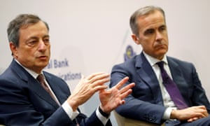 Mario Draghi and Mark Carney
