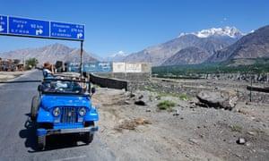 Gilgit-Baltistan in Pakistan.