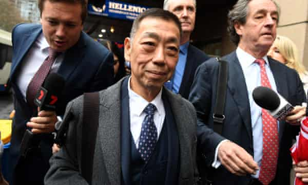 On Friday, Ernest Wong was repeatedly accused of lying when he claimed he had not sold the head table at the fundraising dinner to Huang for $100,000, despite records suggesting otherwise.