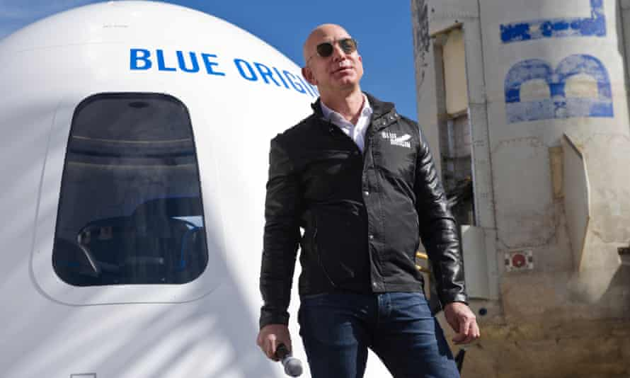 Private firms such as Jeff Bezos's Blue Origin are maintaining the US's status as the world's greatest space power.