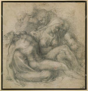 The Lamentation over the Dead Christ (Warwick Pieta), by Michelangelo