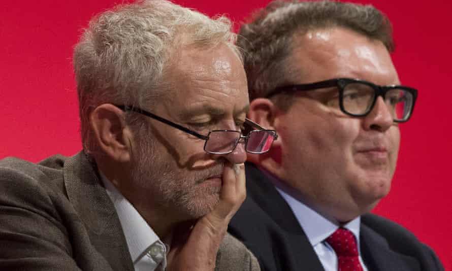 Jeremy Corbyn with Tom Watson