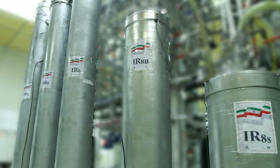 Iranian atomic enrichment facilities