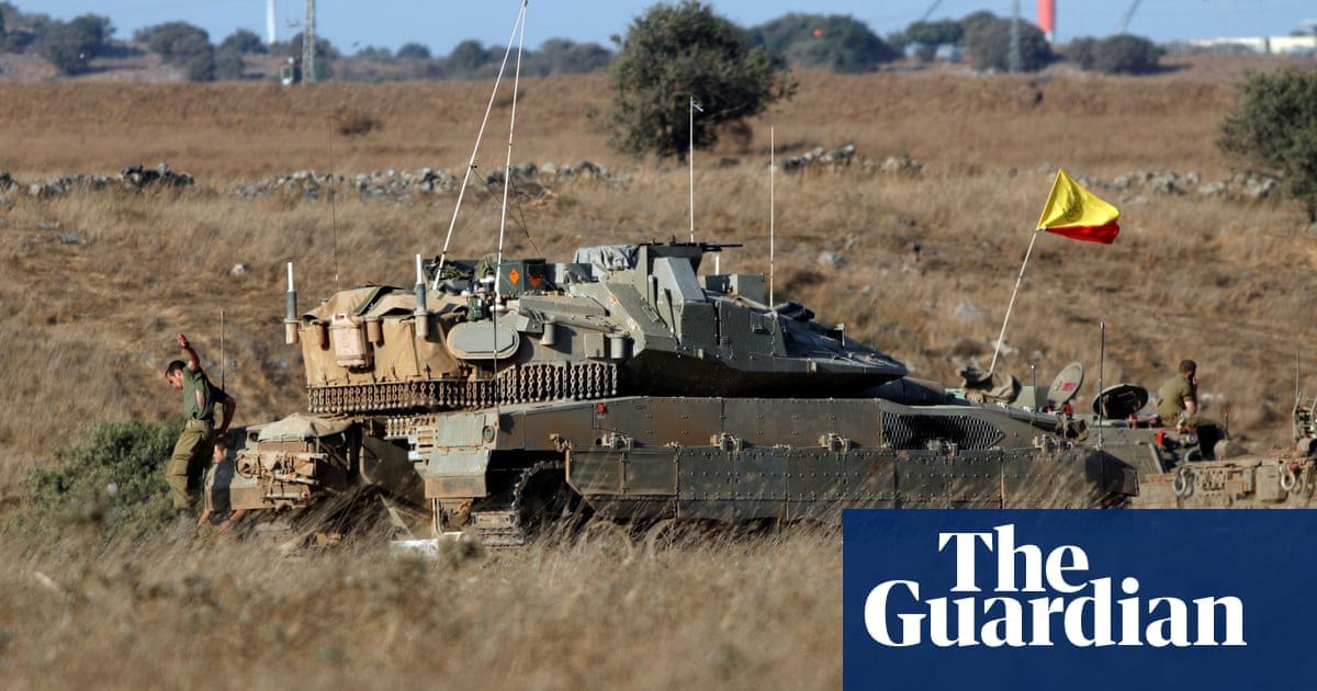 Israeli jets strike Syrian military targets after Golan Heights attack – The Guardian