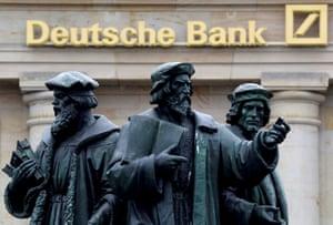 Germany's Deutsche Bank in Frankfurt.