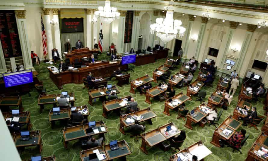 California lawmakers passed the guaranteed income bill with bipartisan support.