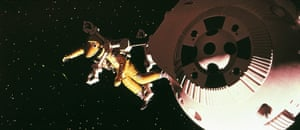A still from 2001: A Space Odyssey, 1968.