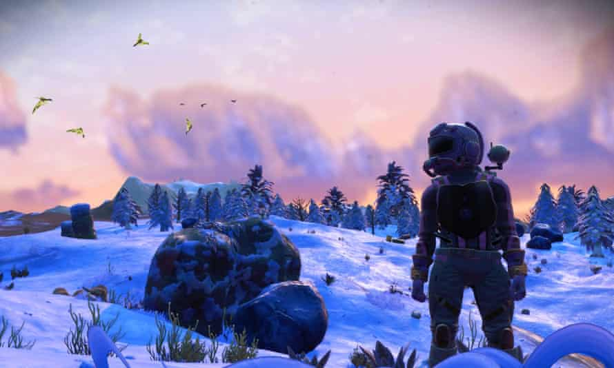Expanded and improved ... No Man's Sky.