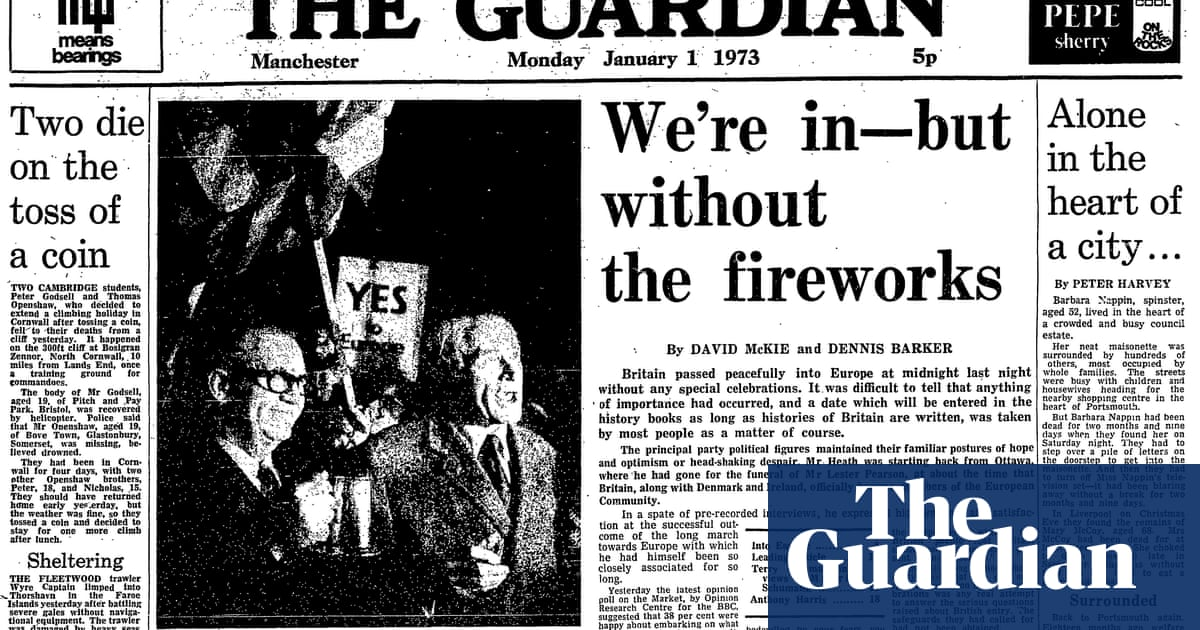 A timeline of Britain's EU membership in Guardian reporting