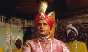Shashi Kapoor as the Nawab in Heat and Dust, 1983.