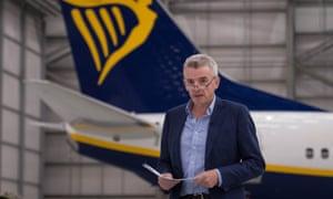 Ryanair chief executive Michael O'Leary