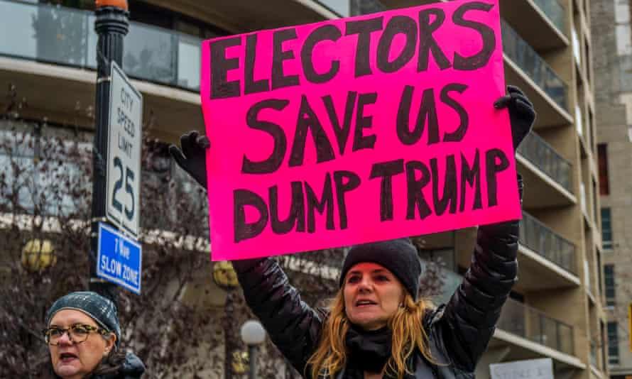 protest electoral colelge