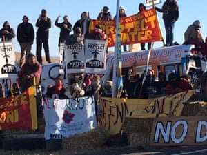 Dakota Access pipeline protests began in April, when dozens of members of the Standing Rock Lakota and other nations took to horseback to ride to the river's edge and set up a 'spiritual camp', named Sacred Stone