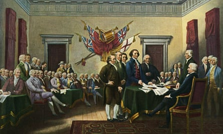 Signing the Declaration of Independence by John Trumbull.
