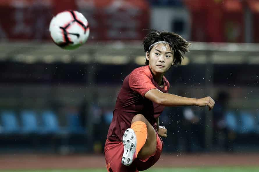 China's Wang Shuang, has been referred to as 'the female Leo Messi' and plays for PSG in France.