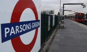 Parsons Green tube station