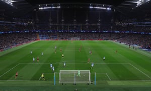 Manchester City v FC Shakhtar Donetsk - UEFA Champions League Group F<br>MANCHESTER, ENGLAND - NOVEMBER 07:  General view during the Group F match of the UEFA Champions League between Manchester City and FC Shakhtar Donetsk at Etihad Stadium on November 7, 2018 in Manchester, United Kingdom.  (Photo by Alex Morton/Uefa via Getty Images)