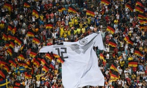 Germany's 12th man at the 2014 World Cup.