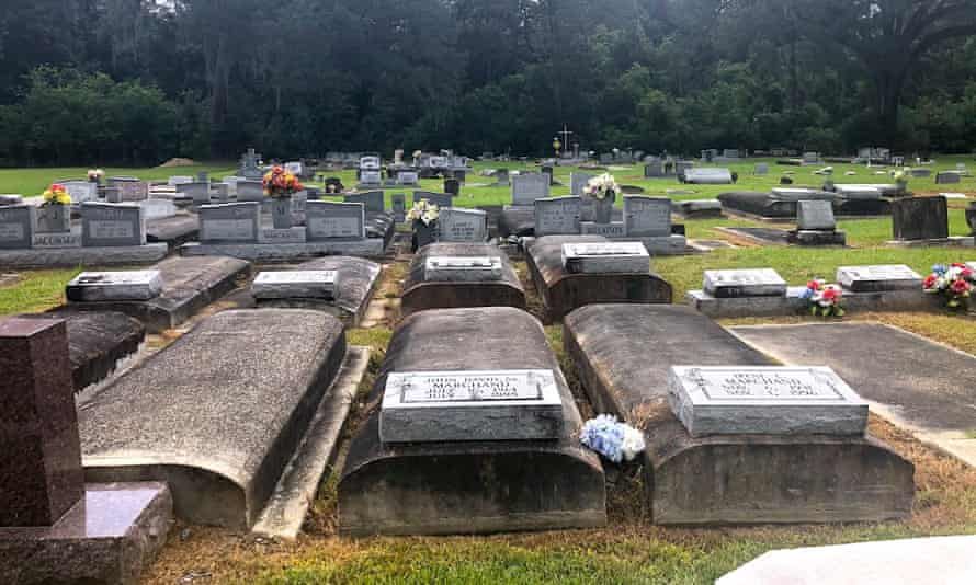 Joy Semien, who co-authored a study with Blanks, visited nearly a dozen Black cemeteries across Louisiana last summer. The sites were located near the edge of former plantations, oil refineries, and other signs of development, such as train tracks.
