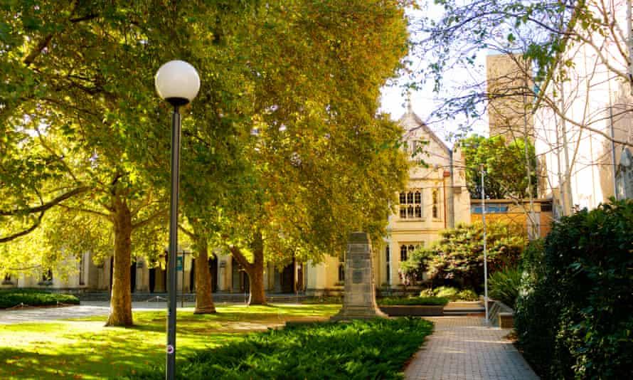 Old Quad, South Lawn, University of Melbourne.