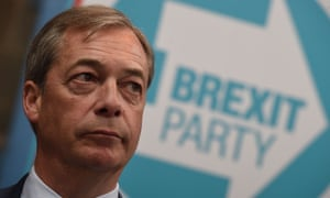 'If Nigel Farage's Brexit party wins the European elections, it will be the greatest victory for bigotry in politics since the EU referendum campaign.'