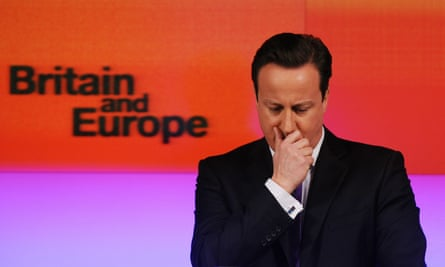 Europe: the problem that just won't go away, as far as David Cameron is concerned.