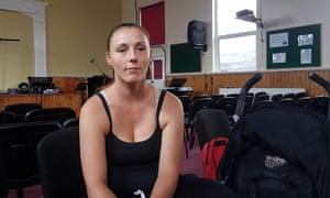 Katie Harris in Horfield, north Bristol.