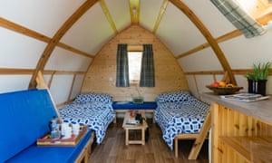 Springhill Farm wigwam interior
