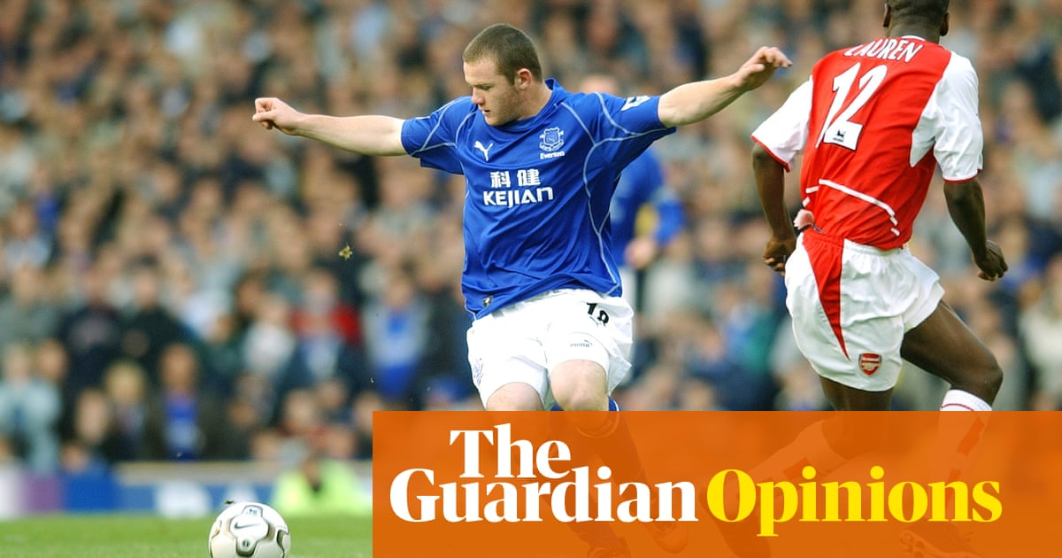 Rooney-mania had many ages but his defining moment remains the first | Jonathan Liew