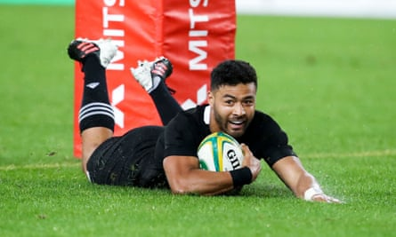 New Zealand's Richie Mo'unga