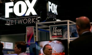 Fox News logo and office