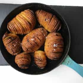 Ed Smith's hasselback potatoes.