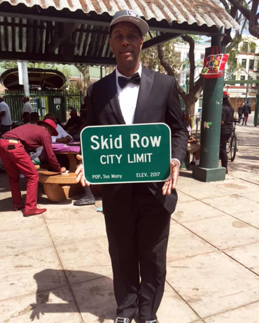 General Jeff Page, Skid Row's unofficial mayor.
