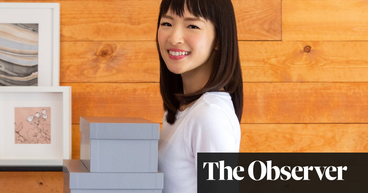 Don't mess with Marie: tidying up with author and Netflix star Marie