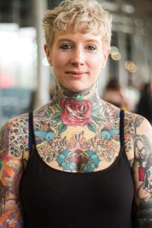 Isabelle Bernard, Paris, Tattoo Street Style by Alice Snape
