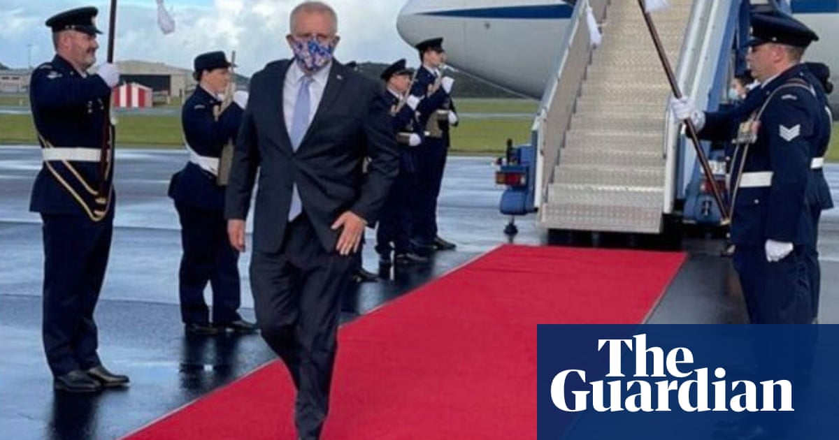 'Protocol creep' blamed for Scott Morrison's red-carpet treatment by air force – The Guardian