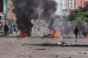 The UN high commissioner for human rights, Zeid Ra'ad al-Hussein, blamed the DRC government for using excessive force during the political demonstrations and riots