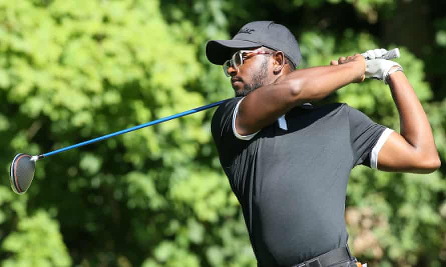 Mulbe Dillard in action at the Advocates Pro Golf Association Tour tournament in August 2020.
