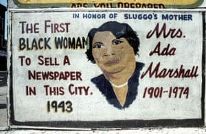 Mrs Ada Marshall, Martin Luther King Drive at Bostwick, Jersey City, 2004