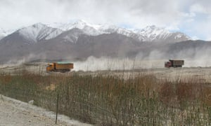 Tashkurgan, on China's border with Pakistan, is set for construction and development as part of the Belt and Road initiative.