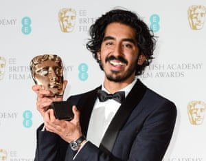 Best supporting actor … Dev Patel.