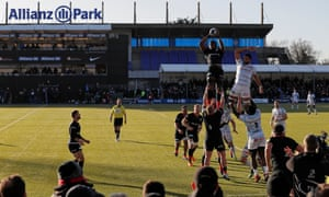 Maro Itoje, seen here claiming a line-out against Racing Metro on Sunday, is one of the top earners at Saracens.