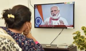 Narendra Modi addresses the nation