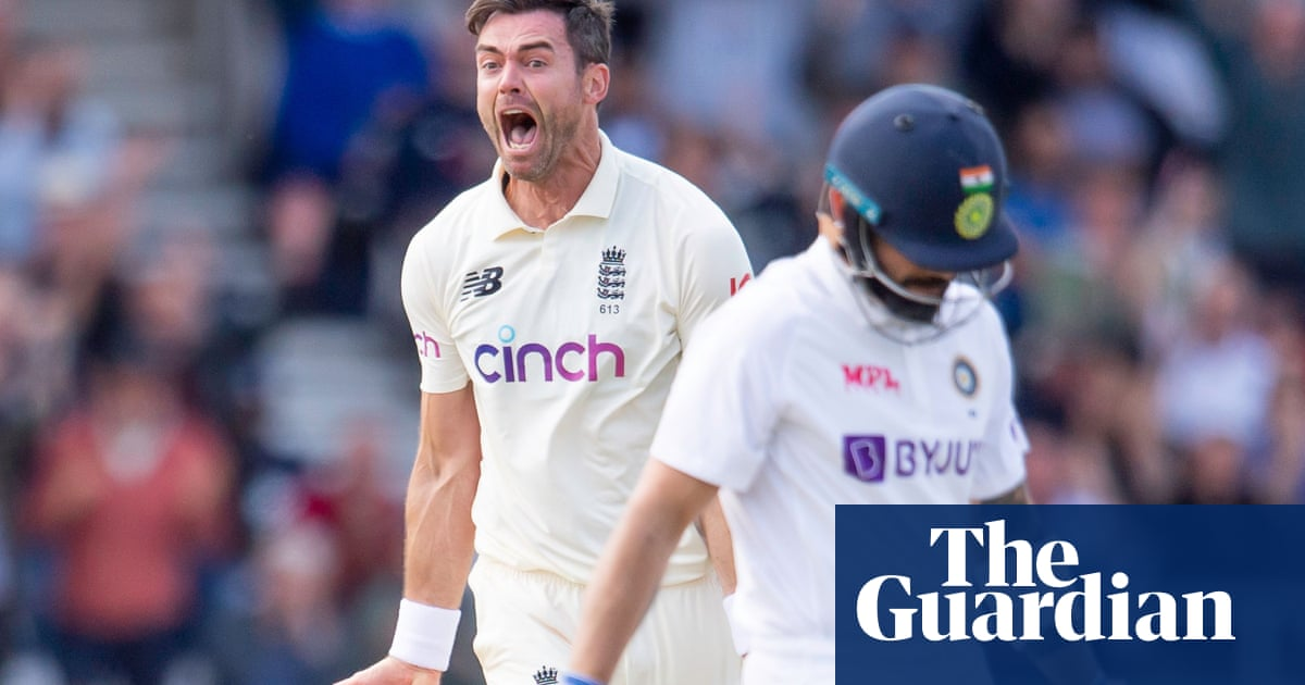 Anderson cuts through India before Burns and Hameed prosper for England