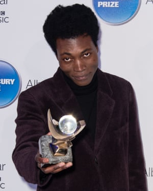 'A striking, anguished voice' ... Benjamin Clementine wins in 2015.