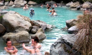 A thermal pool at Hanmer Springs