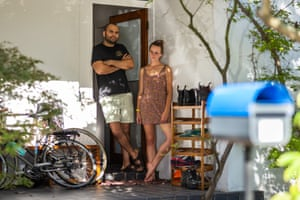 Daniel and Esther, journalist and university outreach coordinator, Dulwich Hill
