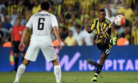 Nani spent last season with Fenerbahce in Turkey but has now joined the Spanish side Valencia.