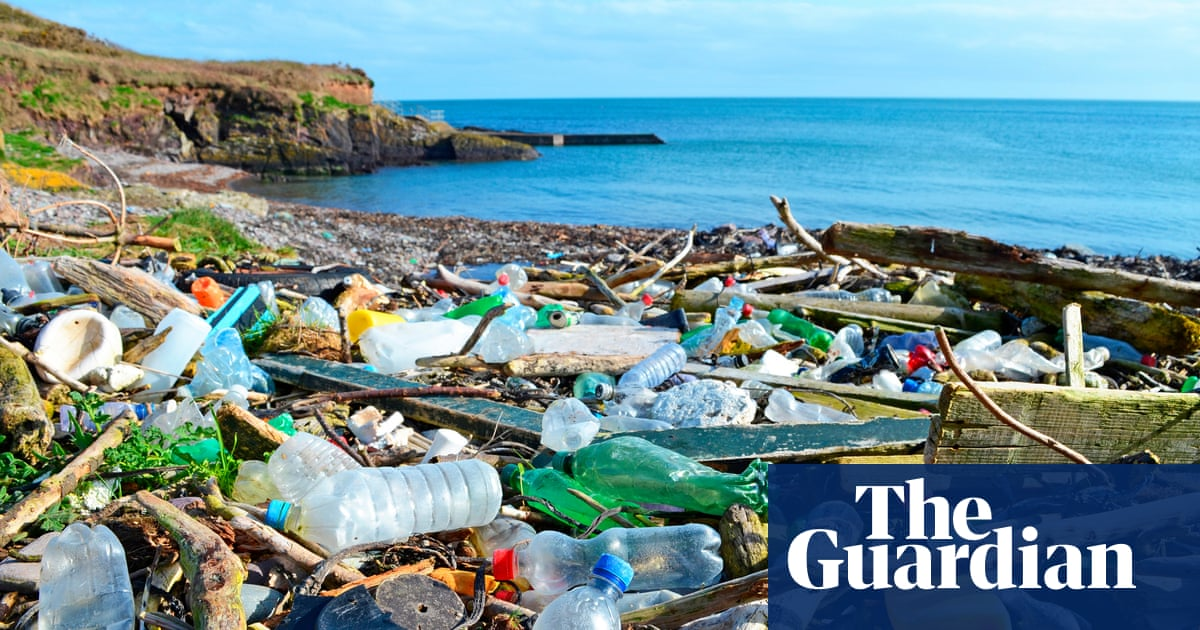 Call for global treaty to end production of 'virgin' plastic by 2040